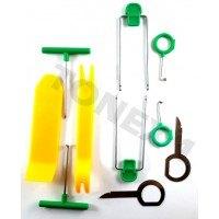 Комплект инструменти за демонтаж интериорни елементи 10 части