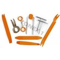 Комплект инструменти за демонтаж  интериорни елементи 12 части
